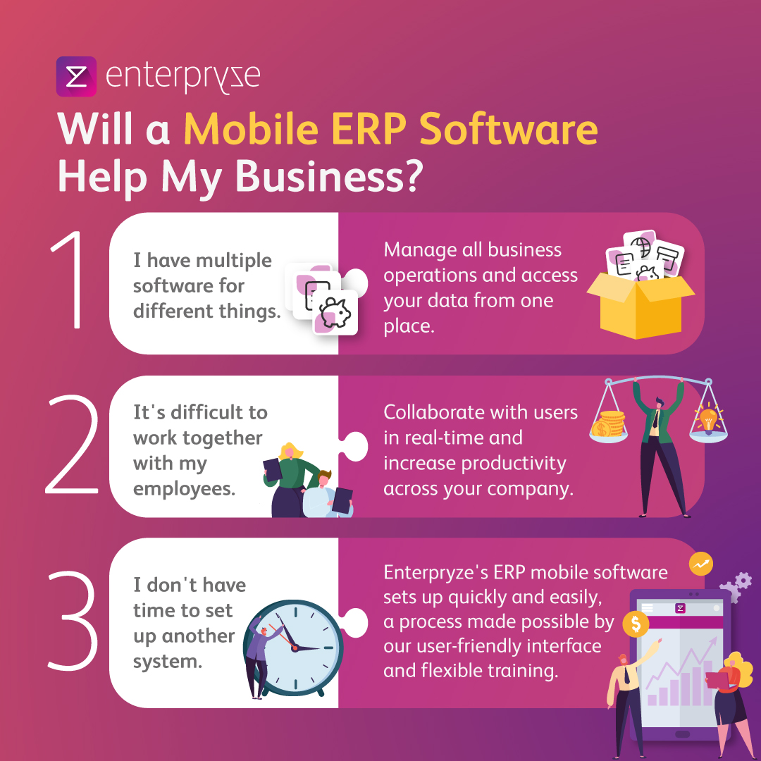Mobile Erp Software Benefits
